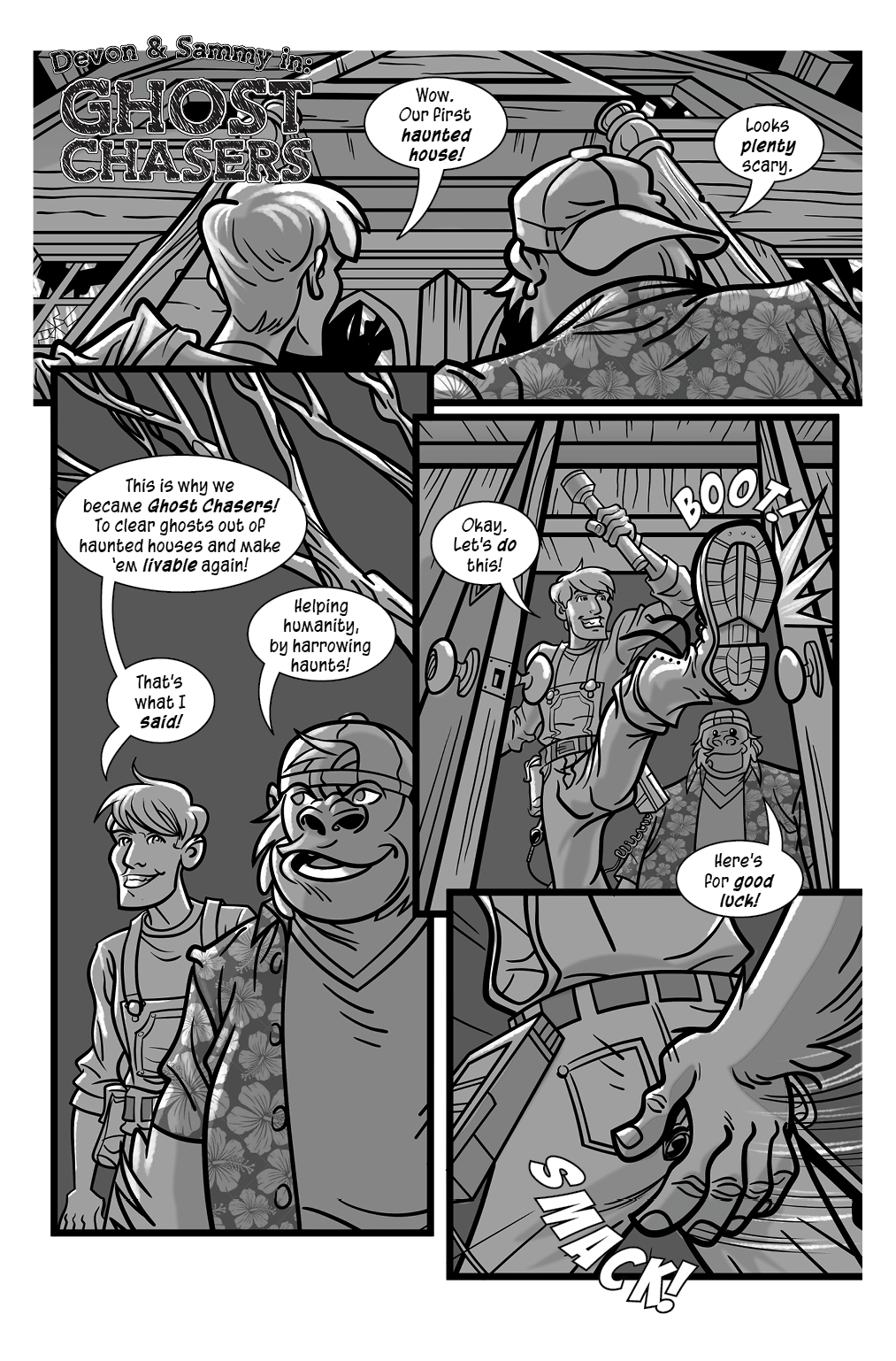 Ghost Chasers Page 1