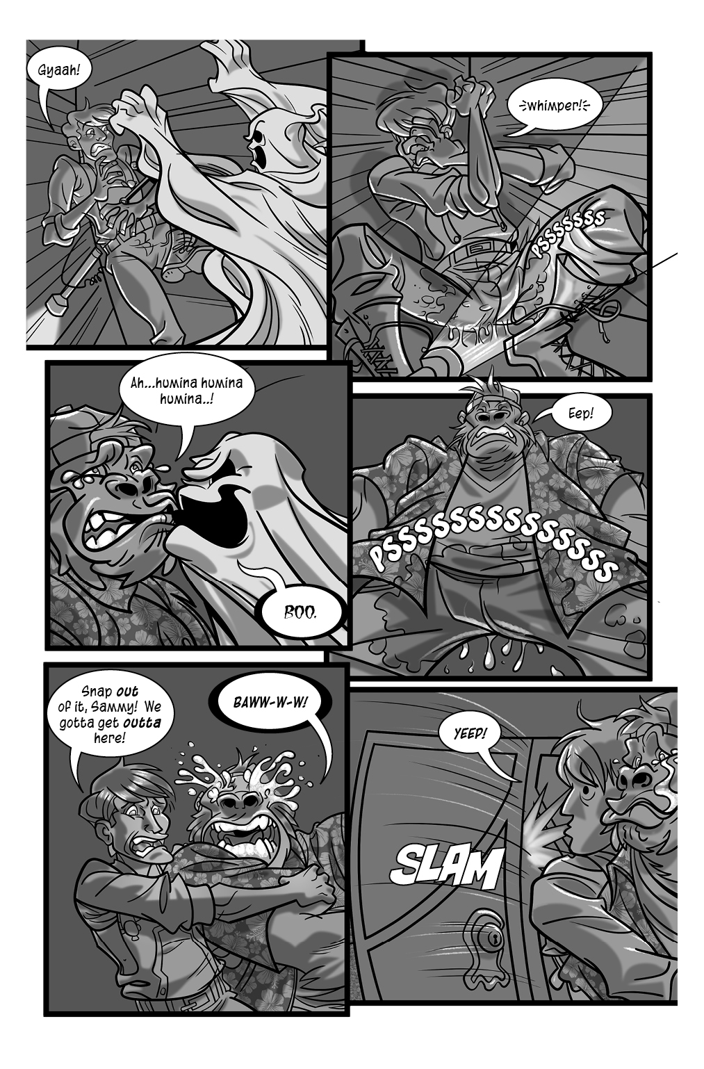 Ghost Chasers Page 3