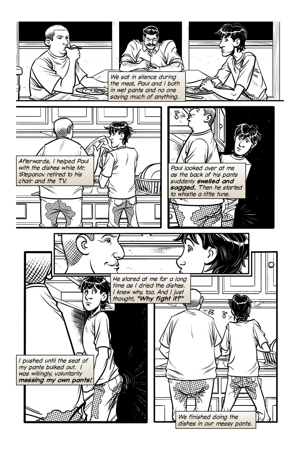 Dear Karis: The Landlord Page 8